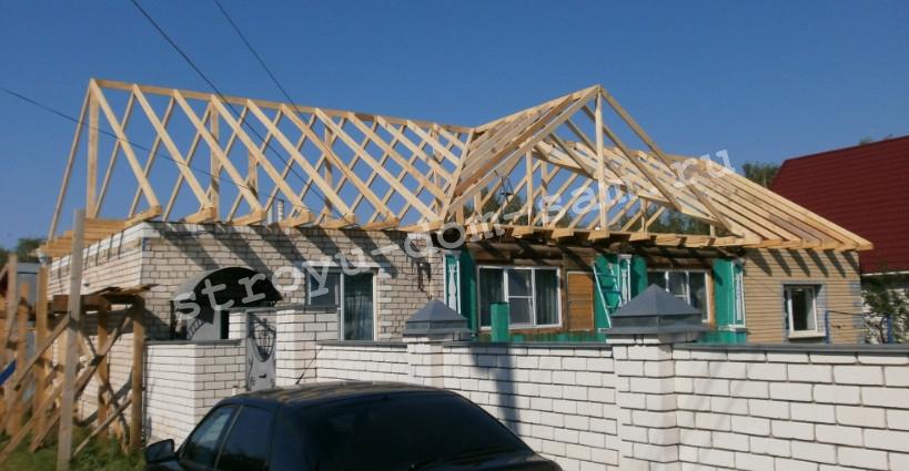 Т-образная крыша