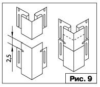 выполнение стыков при обшивке сайдингом