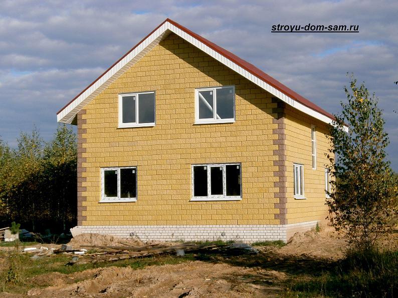 дом из теплоблоков
