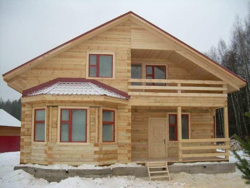 Строительство дома из бруса своими