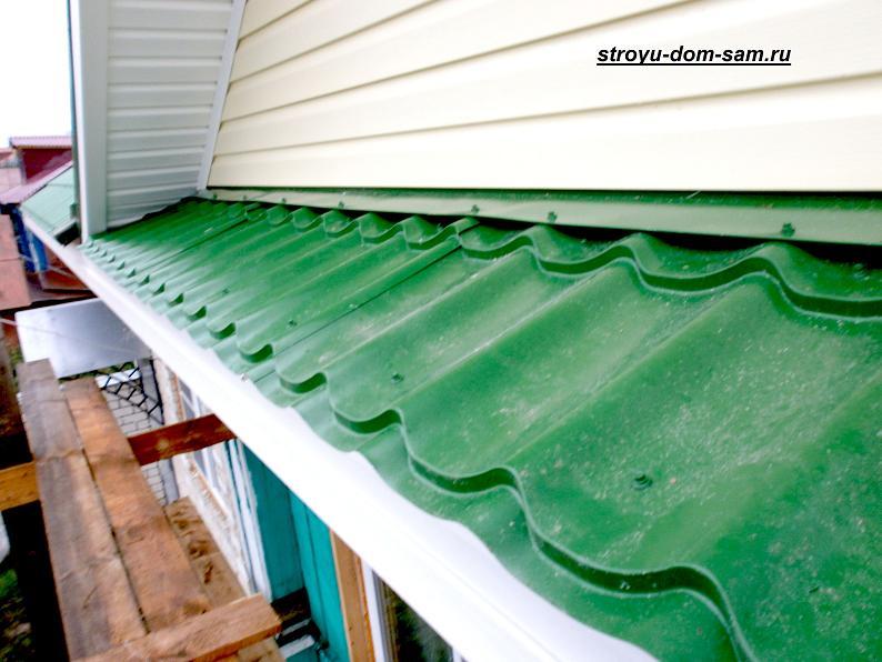 Фронтон крыши: отделка фронтона крыши сайдингом своими руками