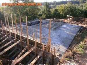 бетонная плита