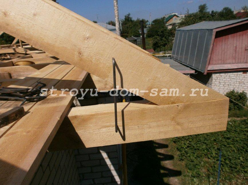 Как сделать навесную крышу