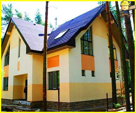 Стоимость работ по отделке фасадов