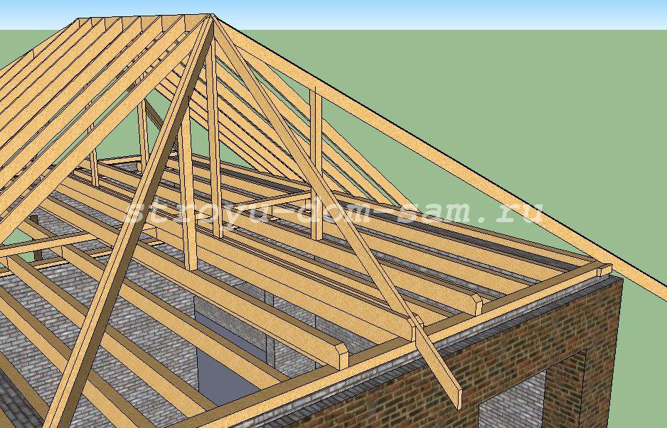Как сделать большую крышу 687