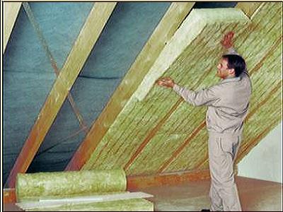 Как утеплить крышу мансарды видео