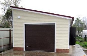 Нужны чертежи для постройки гаража своими руками