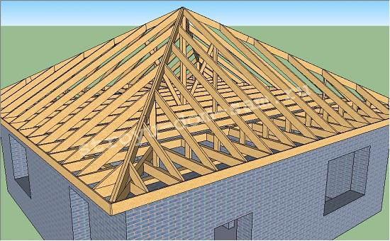 нарожники шатровой крыши