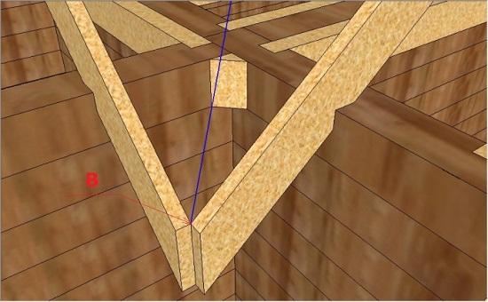 Т образная крыша как правильно сделать 126